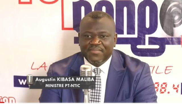 16 000 km de fibre optique bientôt placés en RDC (Augustin Kibassa)