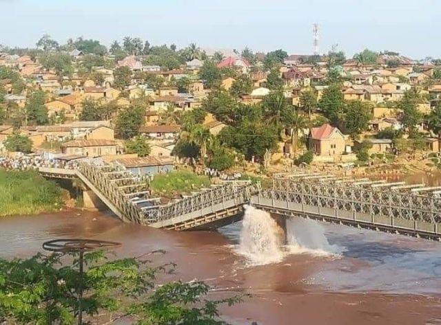 Plusieurs morts dans l'effondrement d'un pont sur la rivière Kasaï