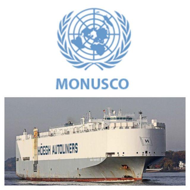 Armes et drogues découverts dans un bateau à destination de la RDC, affrété par la Monusco.